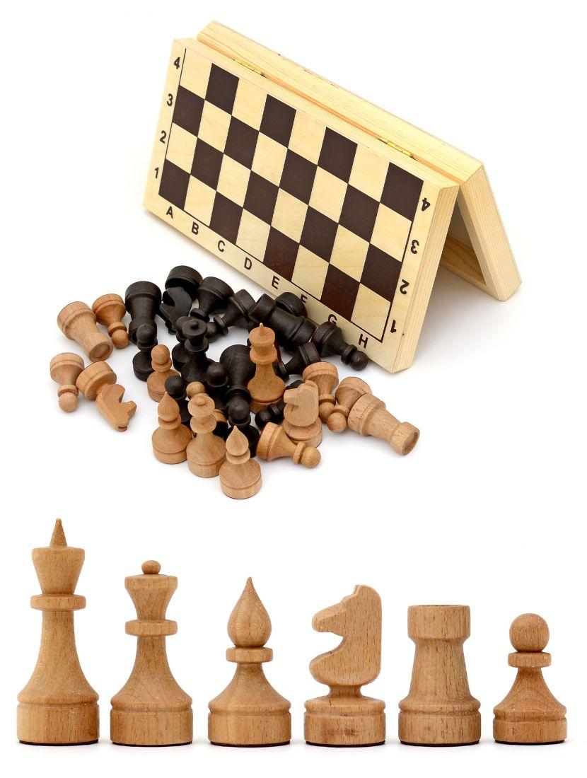 Шахматы малые «Кинешемские» бук 30 см
