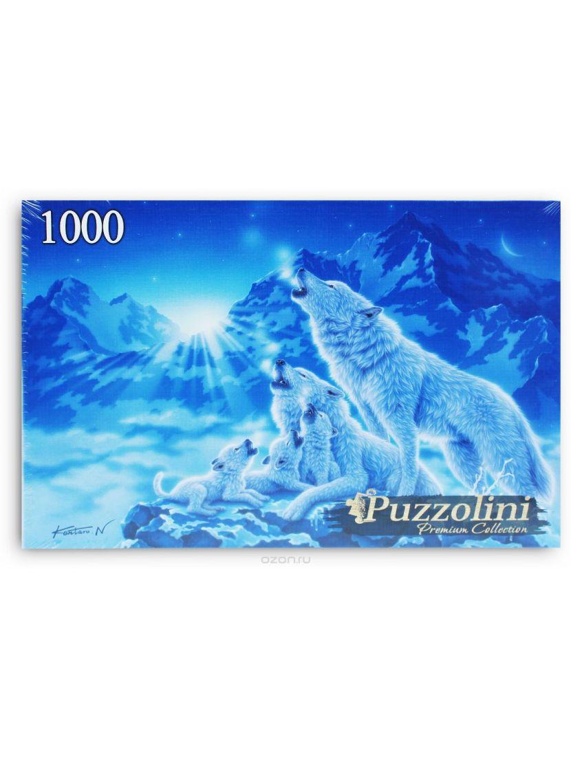 Пазл «Кентаро Нишино. Ночные волки» 1000 элементов
