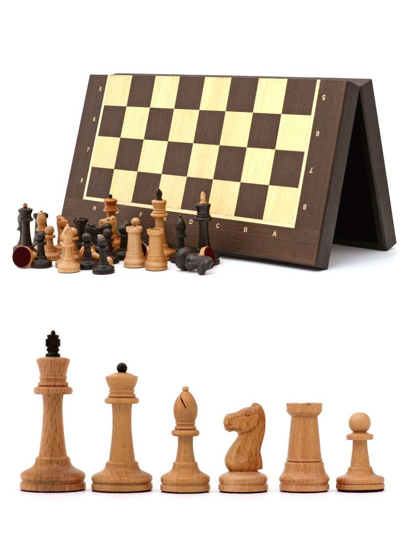 Шахматы «Стаунтон» венге 45 см складные