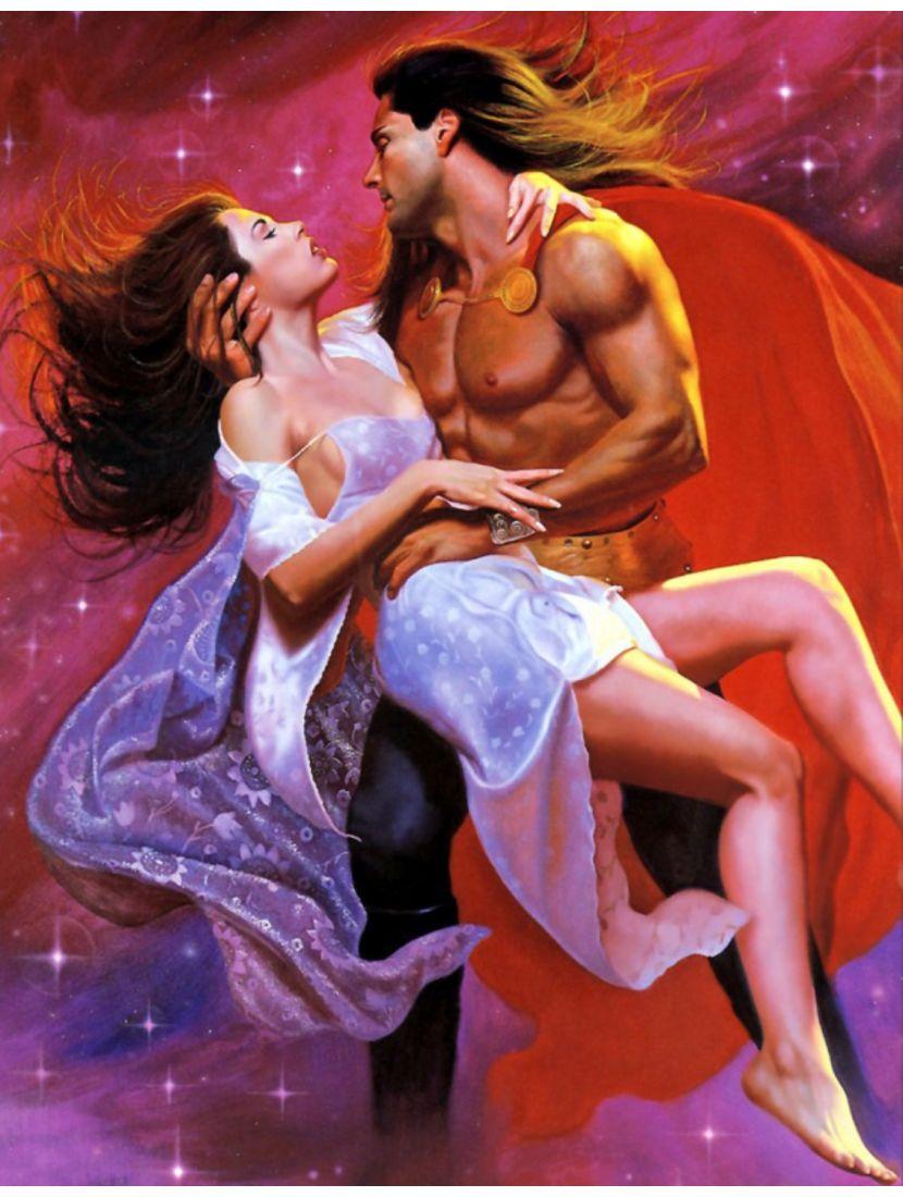 Картина по номерам  на подрамнике «Божественная страсть»
