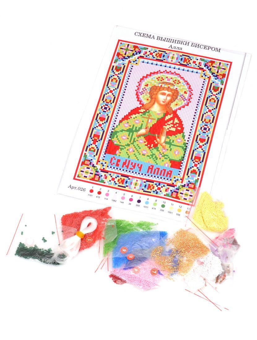 Набор для вышивания бисером «Святая Алла» икона
