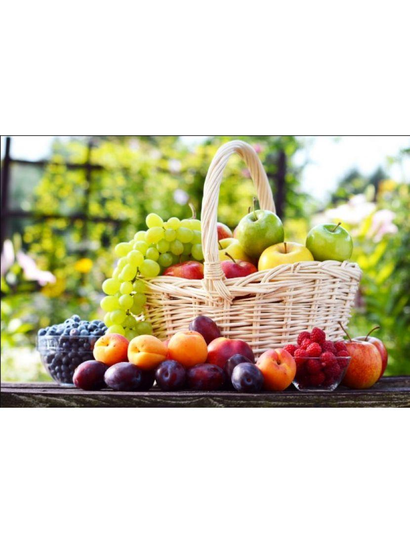 Алмазная мозаика «Корзина фруктов»