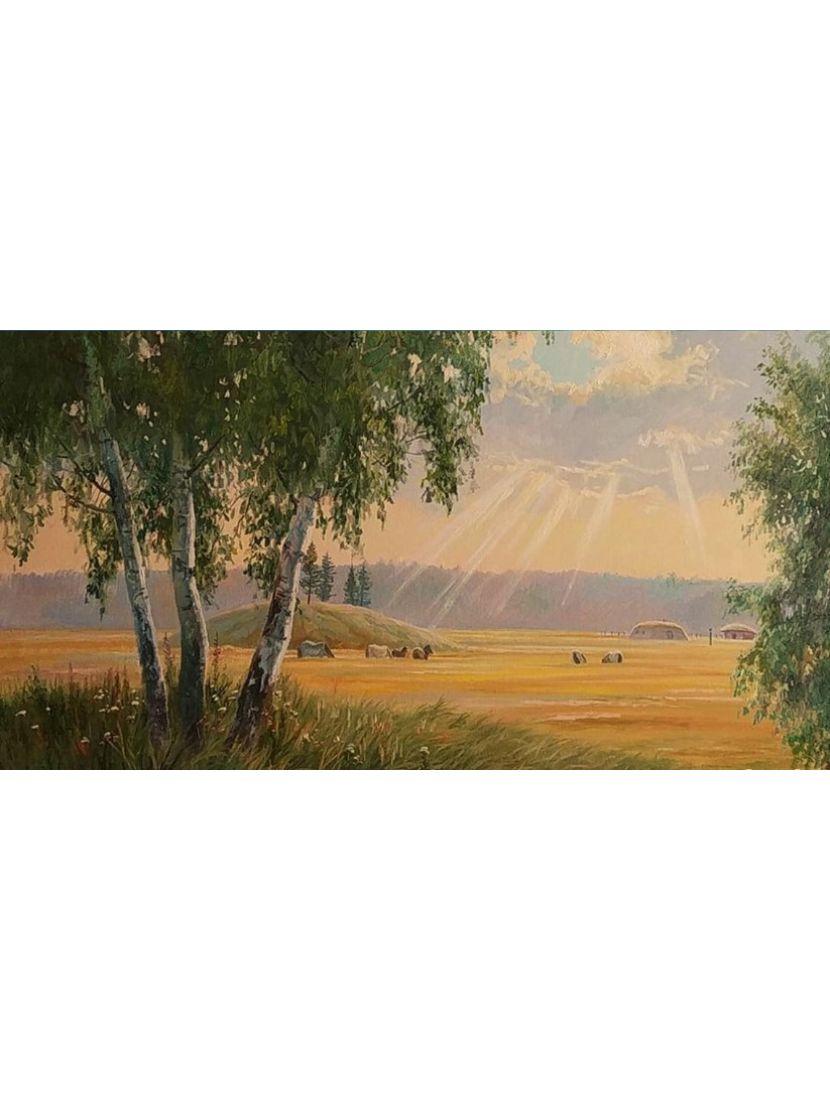 Алмазная мозаика «Золотые поля»