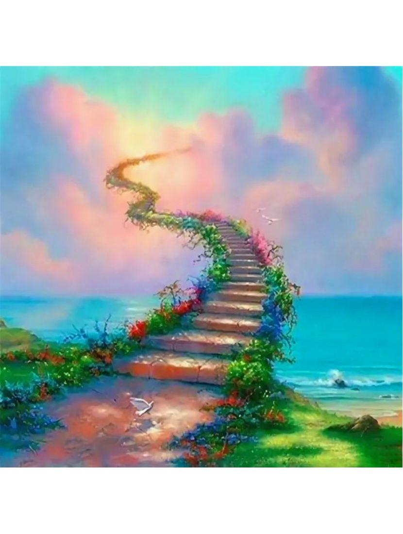 Алмазная мозаика «Дорога в рай»