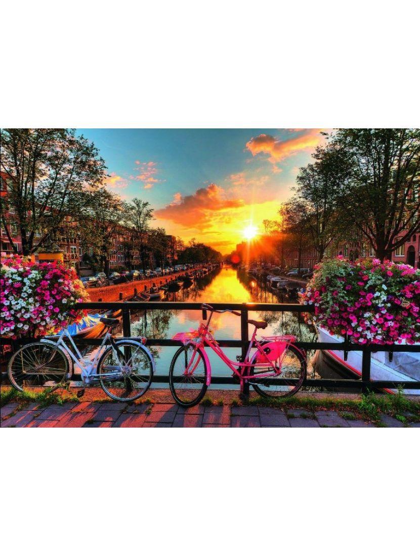 Алмазная мозаика «Романтичный закат»