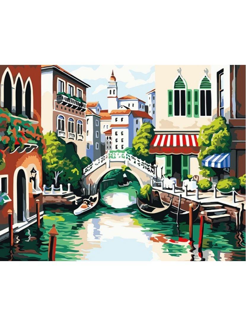 Алмазная мозаика «Венецианский канал»