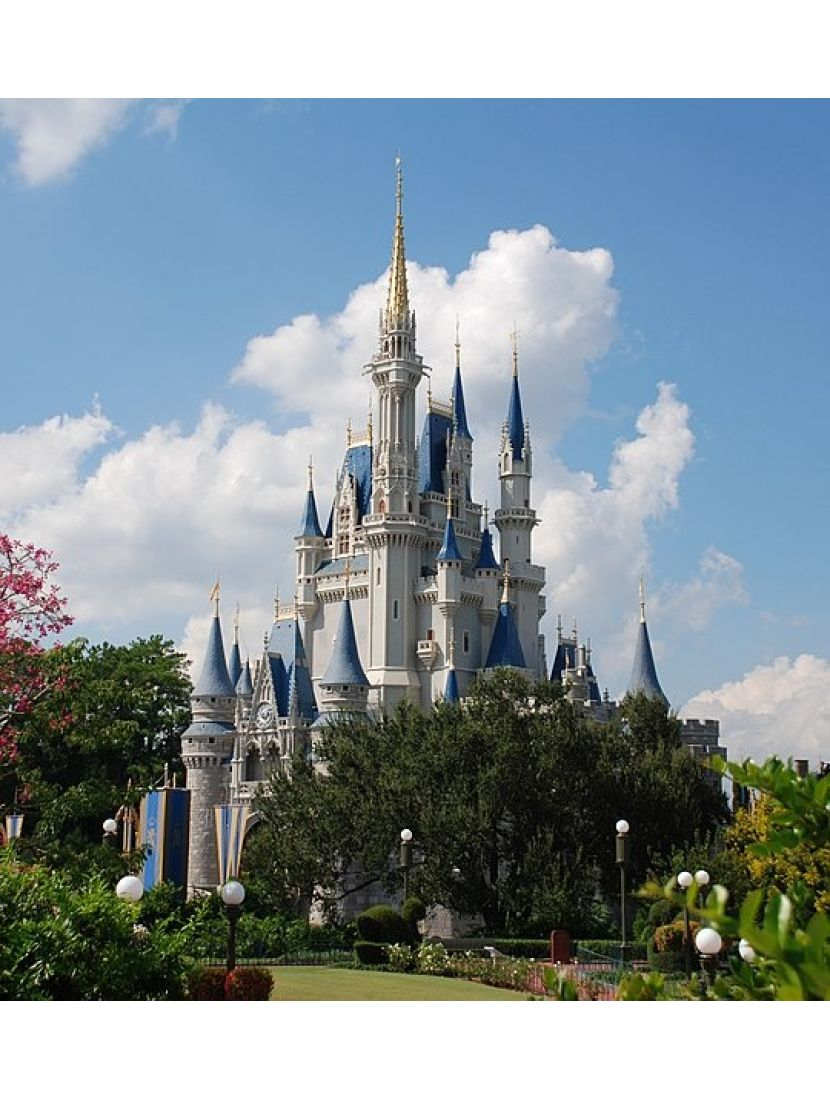Алмазная мозаика «Сказочный замок»