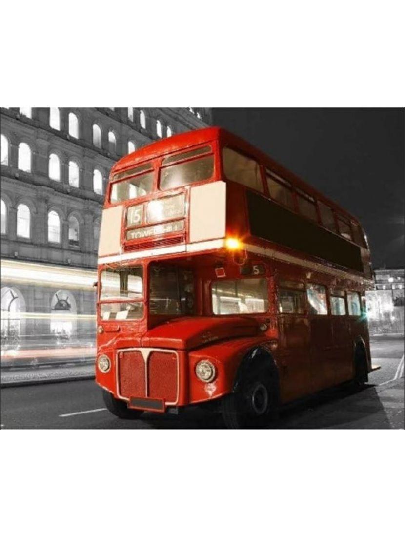 Алмазная мозаика «Лондонский даблдеккер»