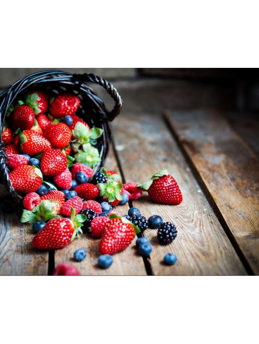 Алмазная мозаика «Корзина лесных ягод»