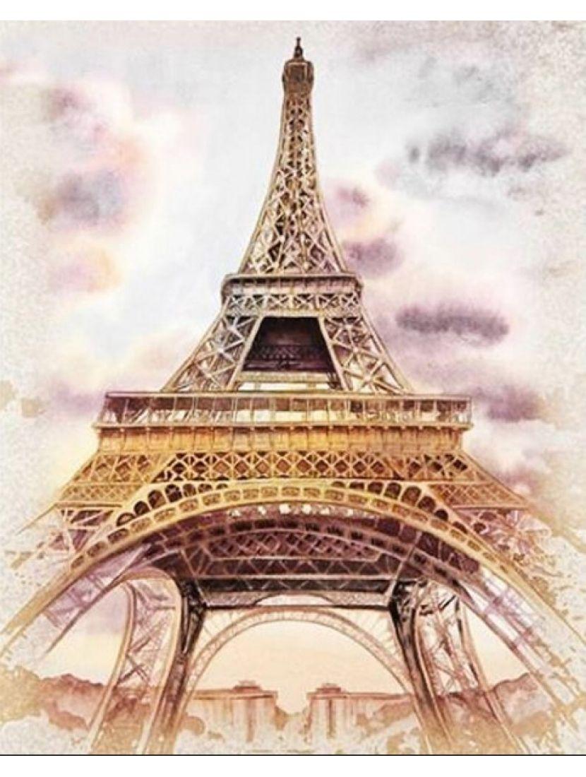 Алмазная мозаика «Эйфелева башня»