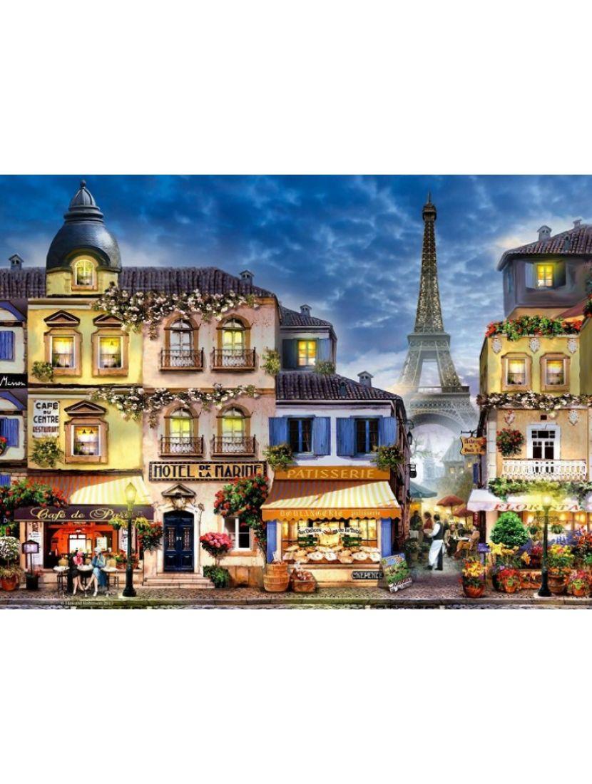 Алмазная мозаика «Лавки Парижа»