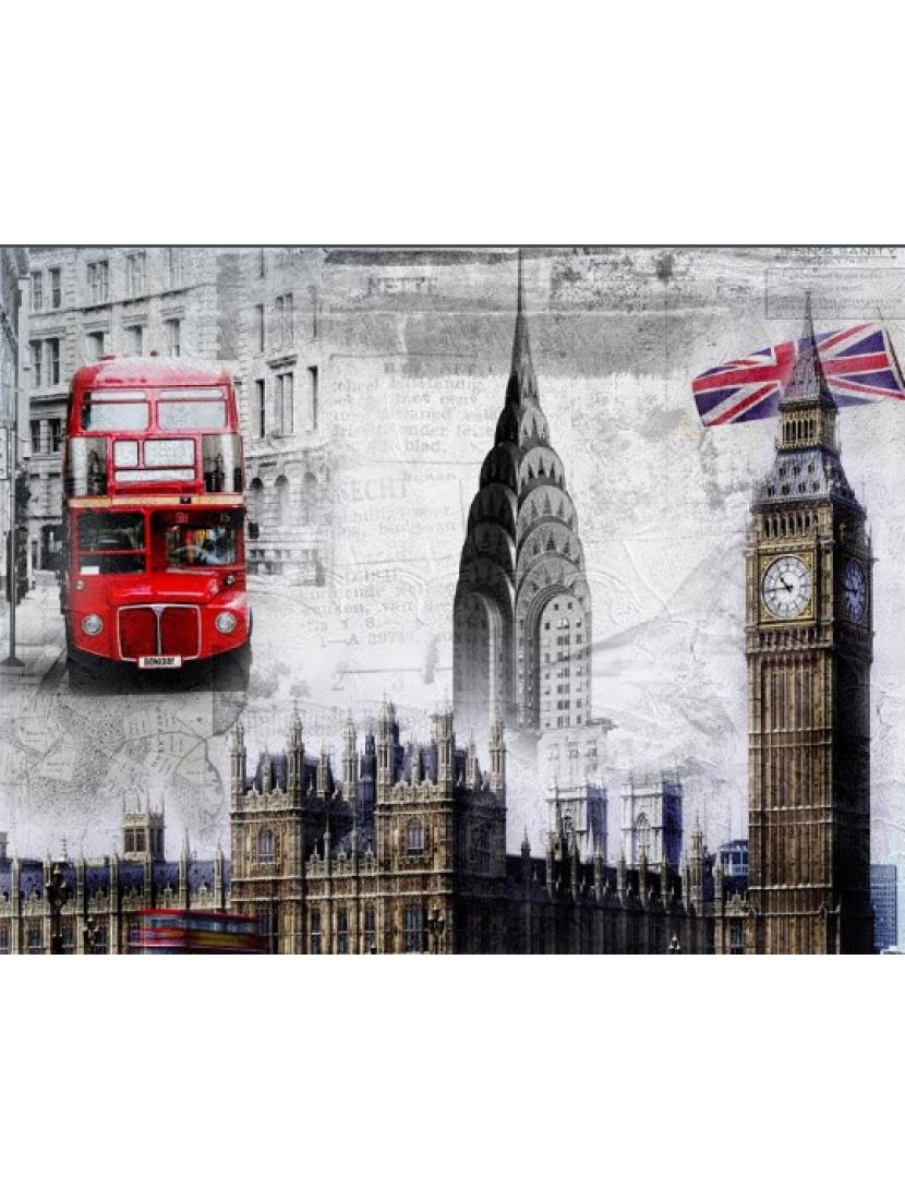 Алмазная мозаика «Символы Англии»