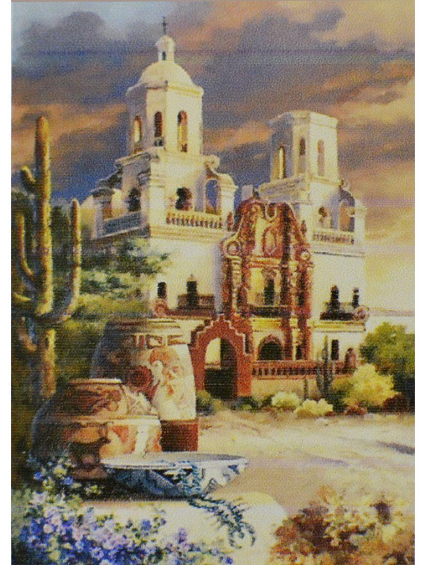 Алмазная мозаика «Католический храм Латинской Америки»
