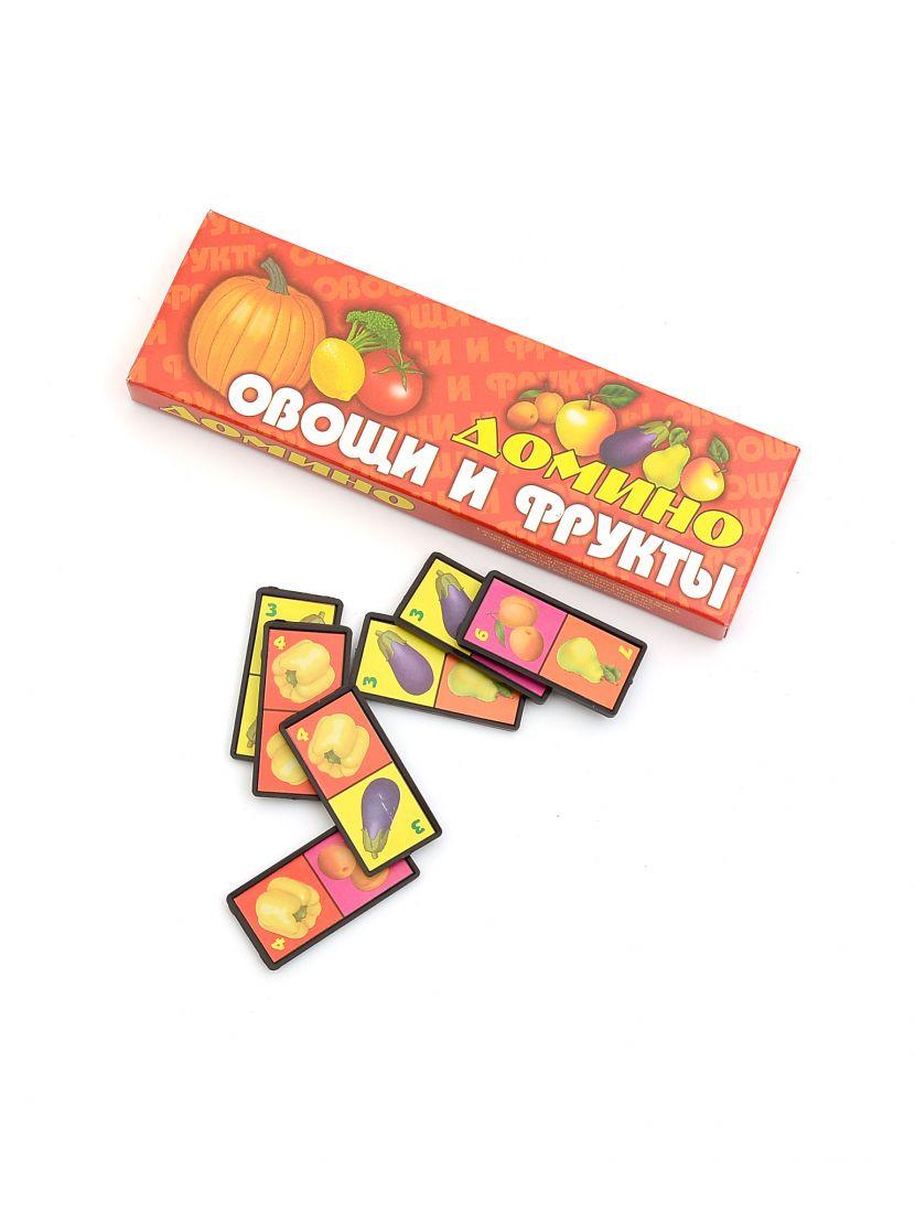 Домино «Овощи и фрукты» детское