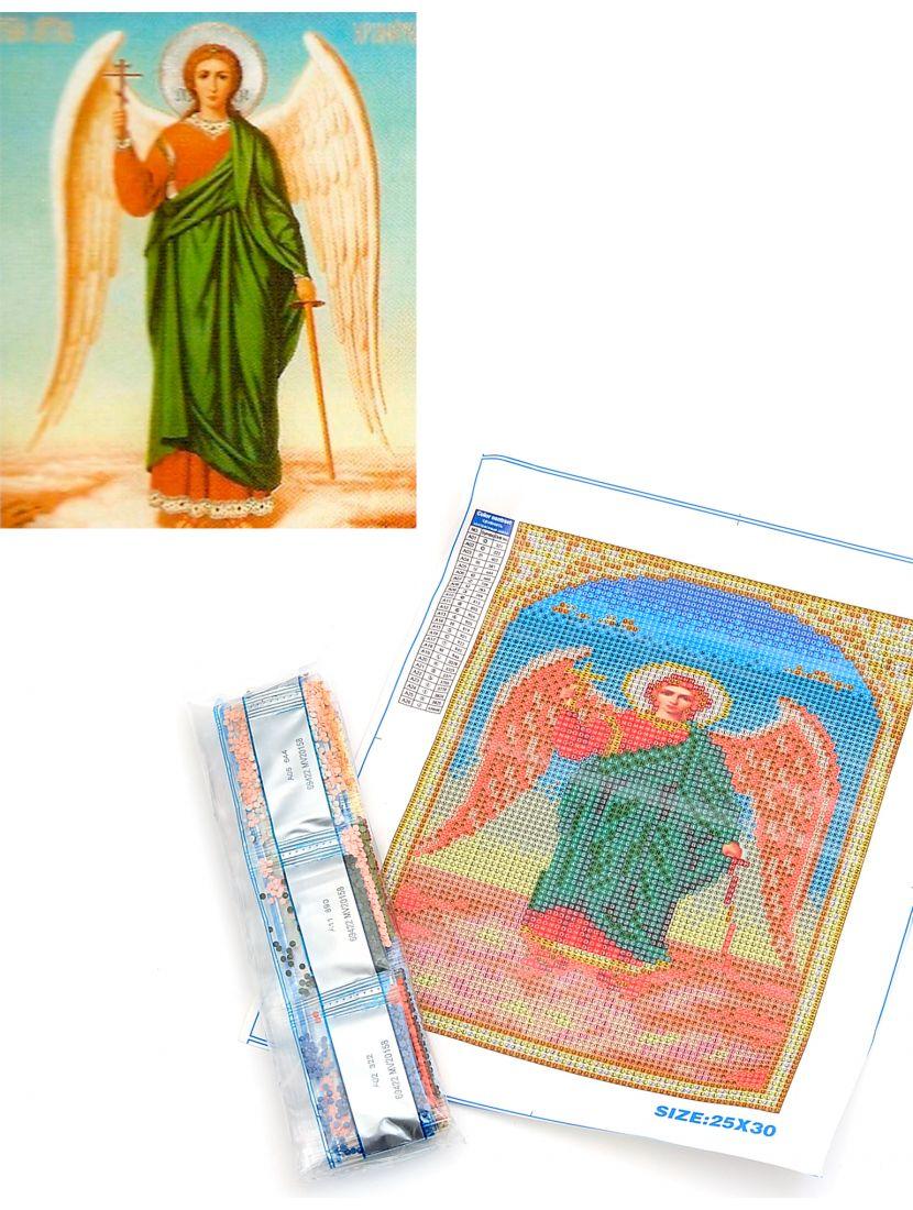 Алмазная мозаика «Ангел хранитель» икона