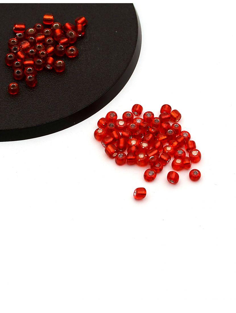 Бисер «Glass bead-50» размер 6, фасовка 50 гр
