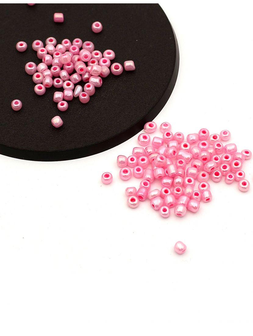Бисер «Glass bead-60» размер 6, фасовка 50 гр