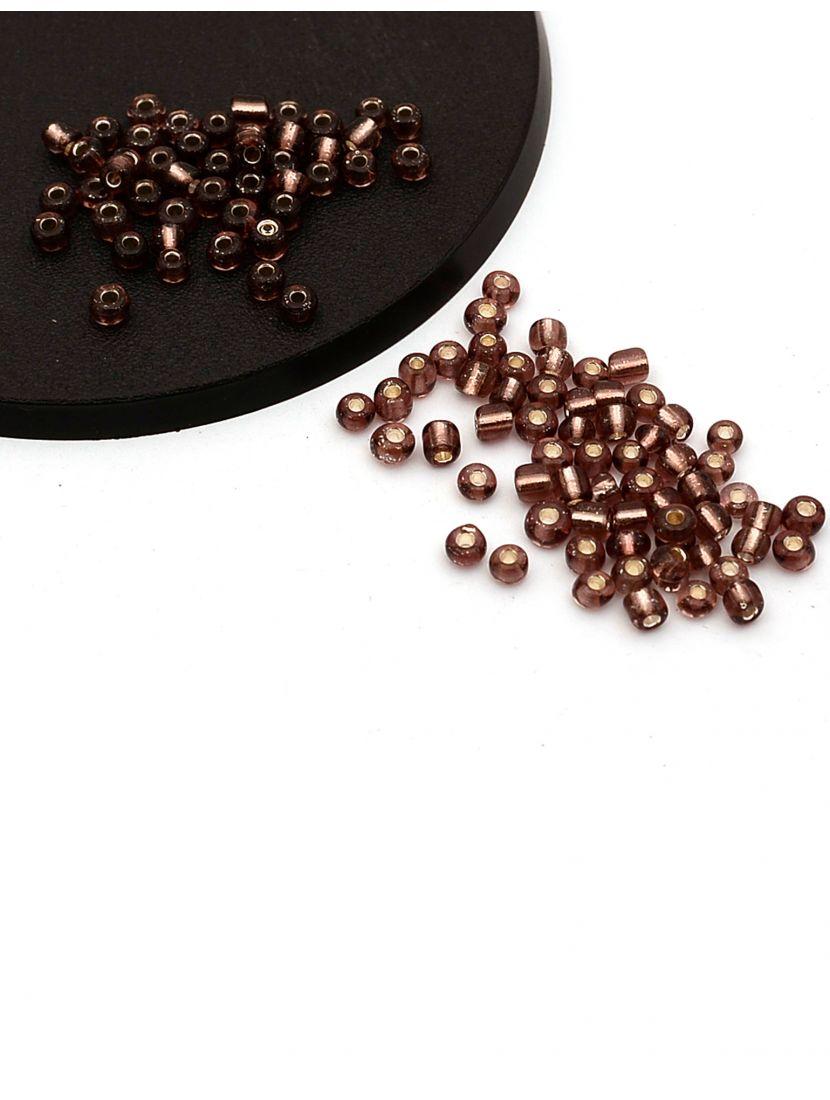 Бисер «Glass bead-61» размер 6, фасовка 50 гр