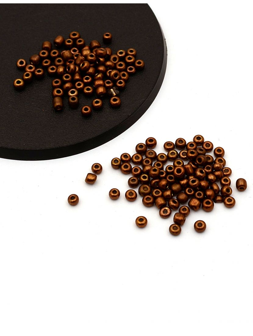 Бисер «Glass bead-64» размер 6, фасовка 50 гр