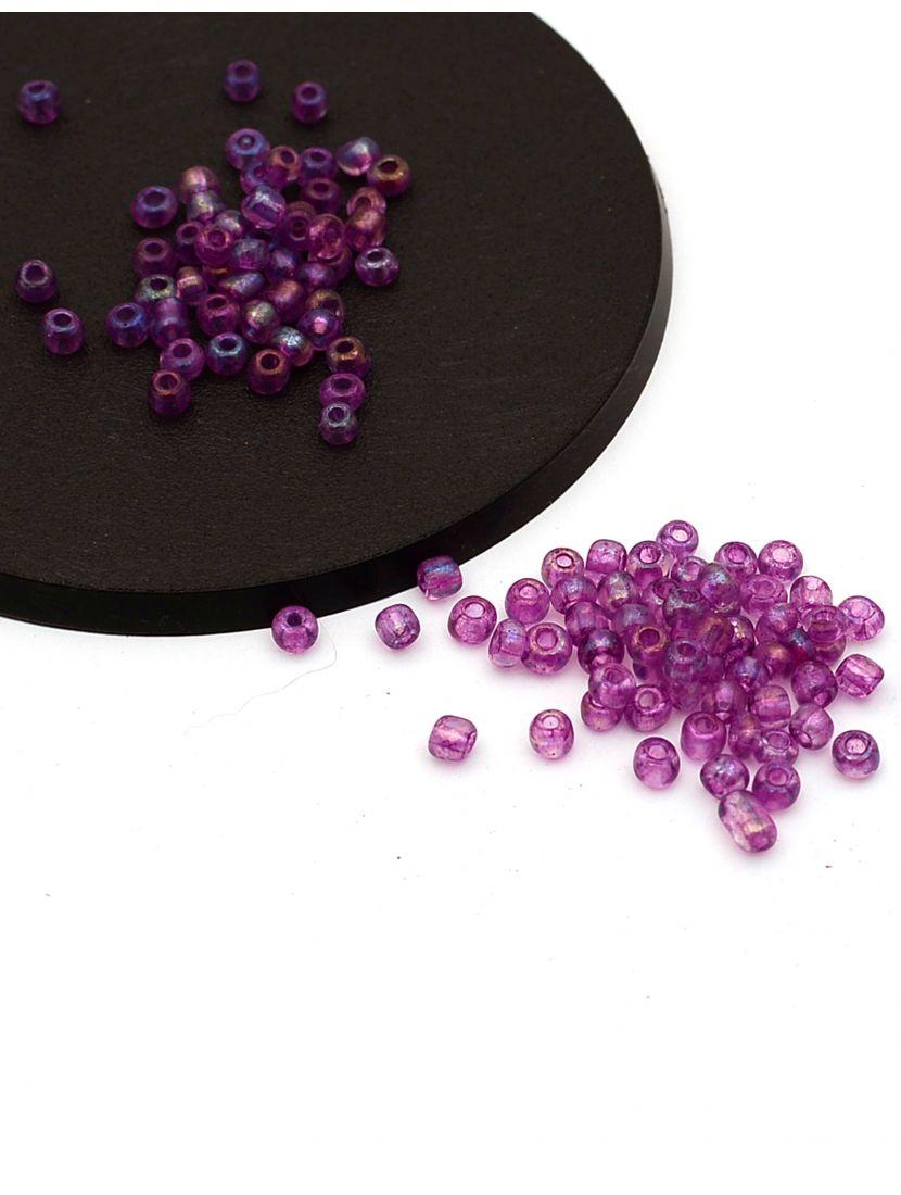 Бисер «Glass bead-66» размер 6, фасовка 50 гр