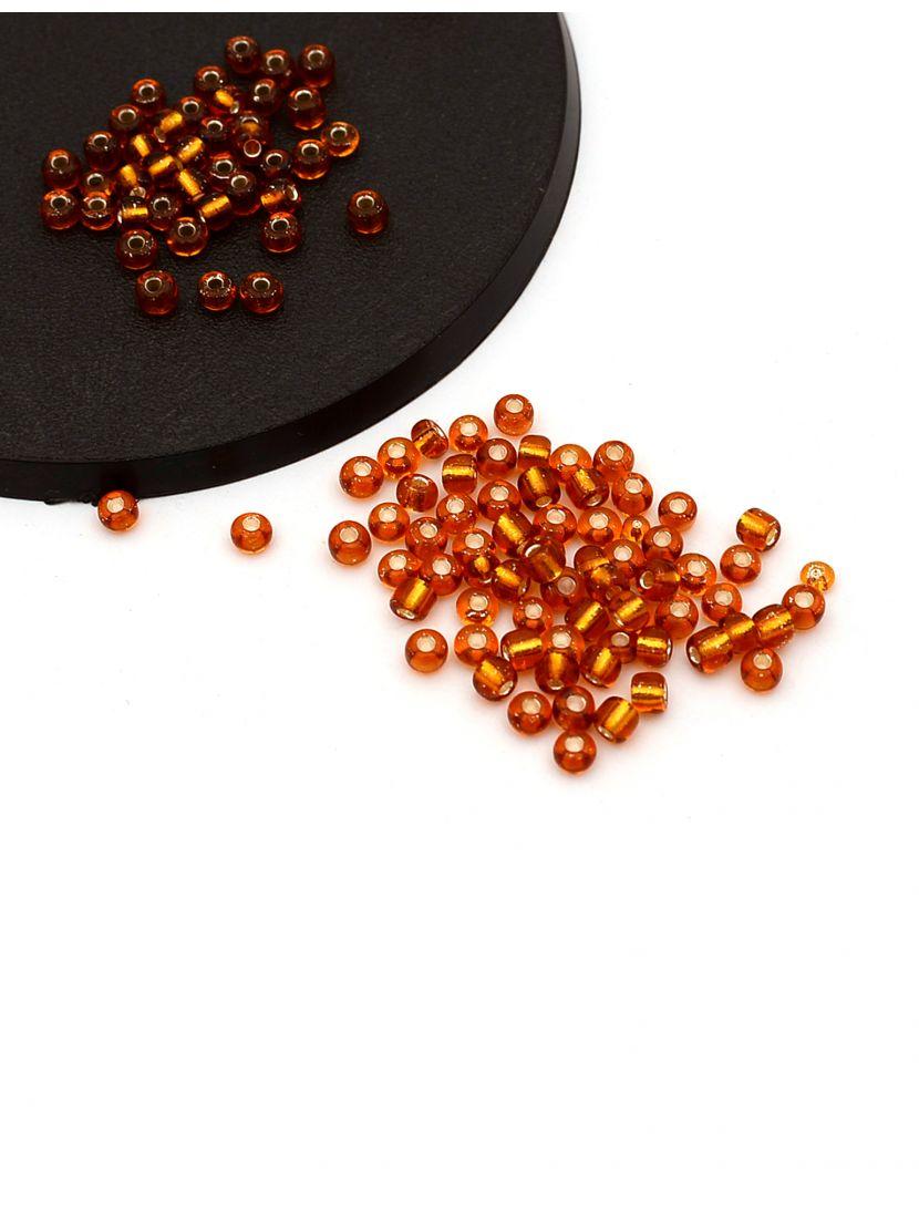 Бисер «Glass bead-76» размер 6, фасовка 50 гр