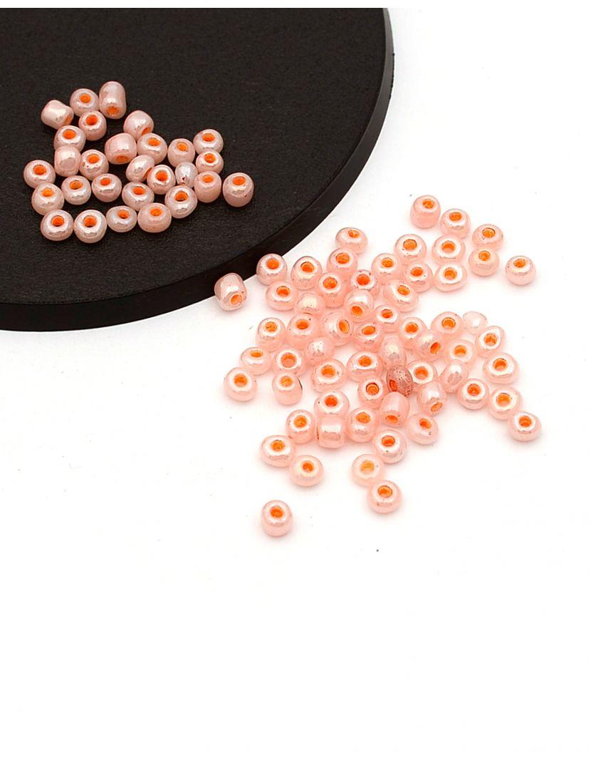 Бисер «Glass bead-75» размер 6, фасовка 50 гр