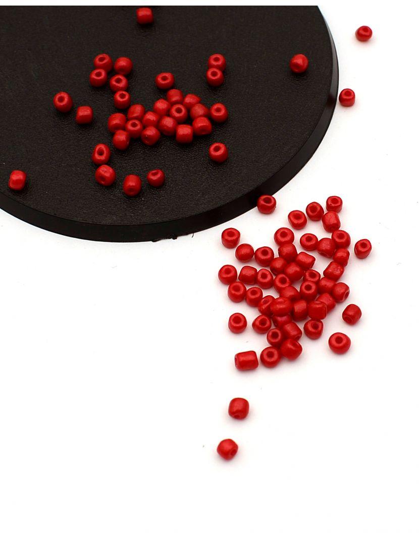 Бисер «Glass bead-80» размер 6, фасовка 50 гр