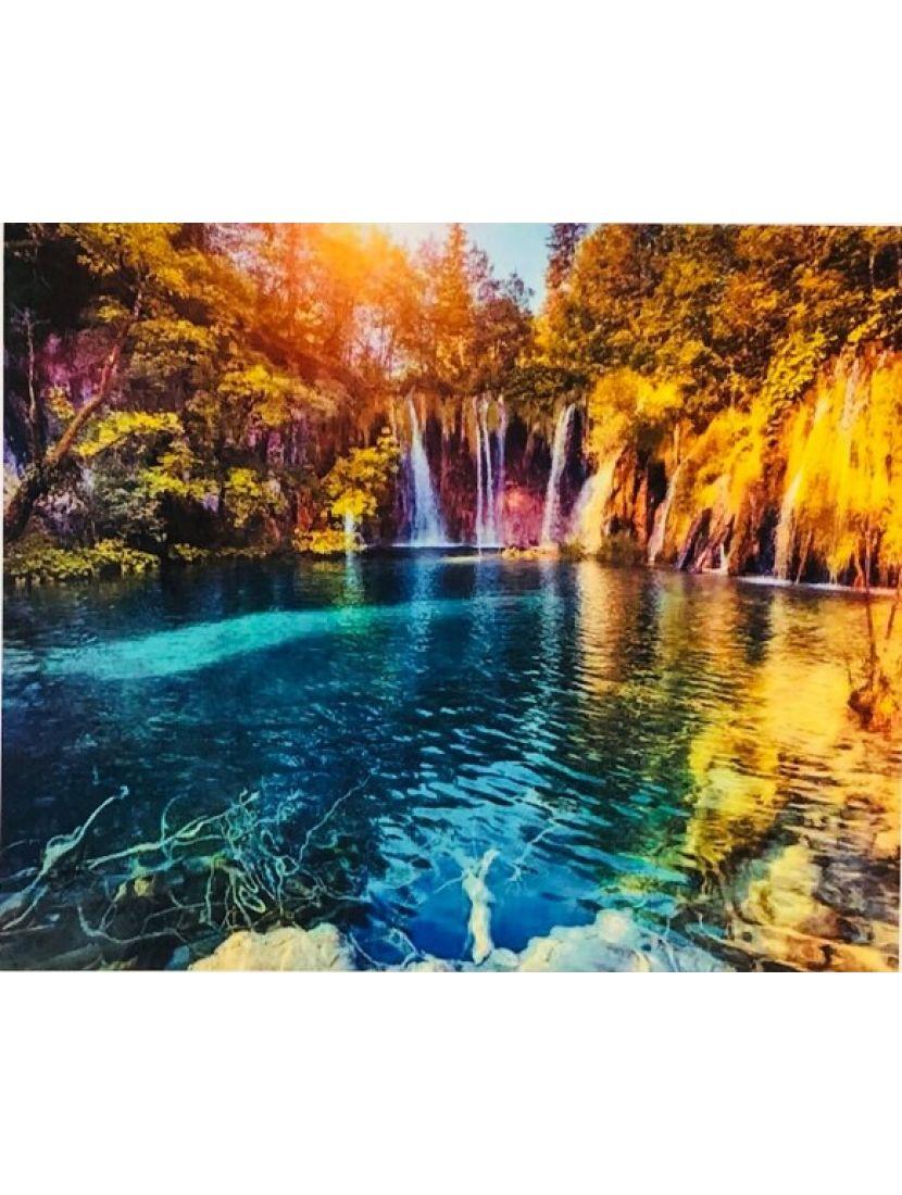 Алмазная мозаика «Карельское озеро»