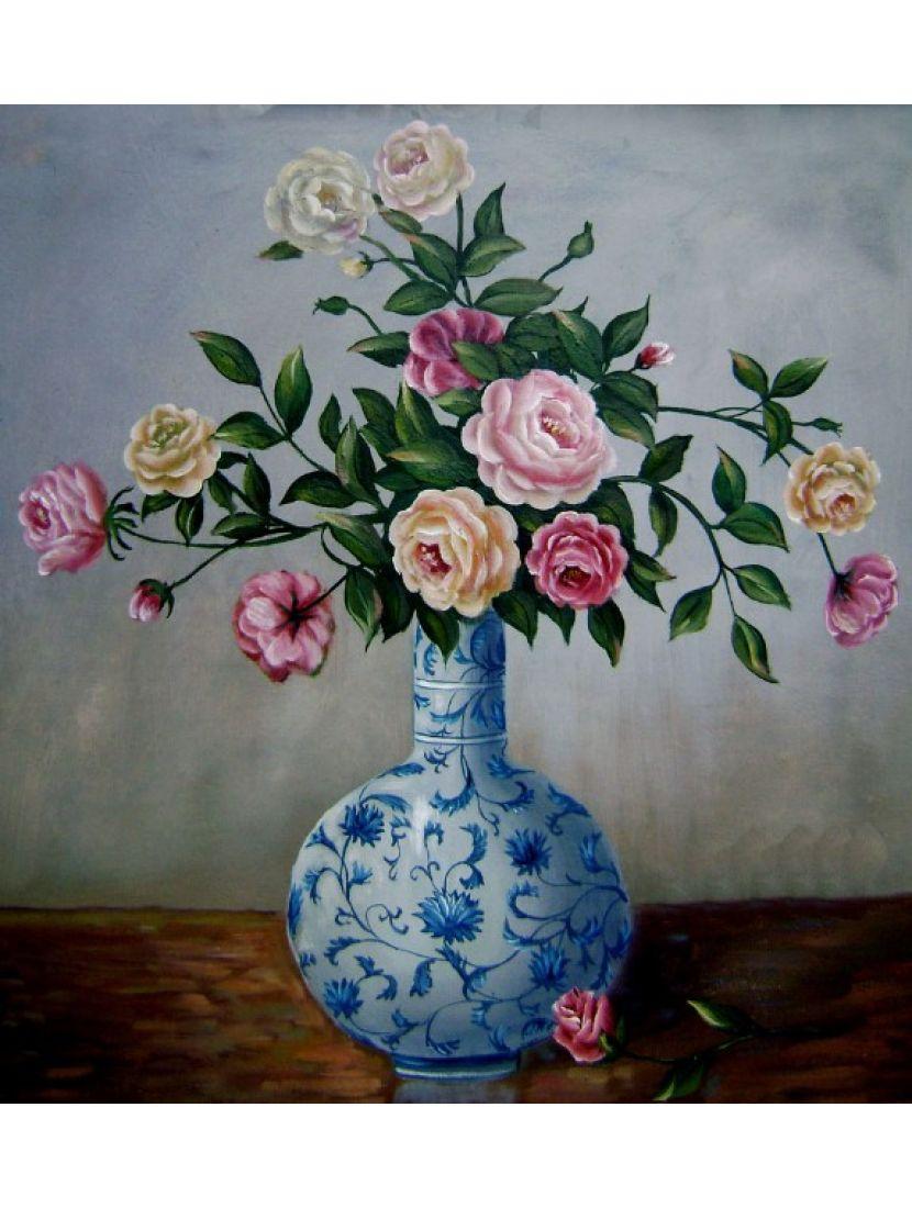 Алмазная мозаика «Изящные розы»