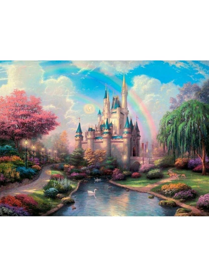 Алмазная мозаика «Волшебный замок»