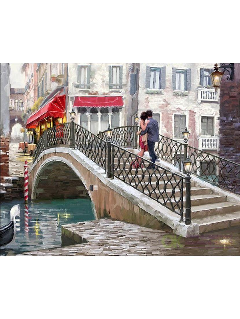 Алмазная мозаика «Свидание в Венеции»