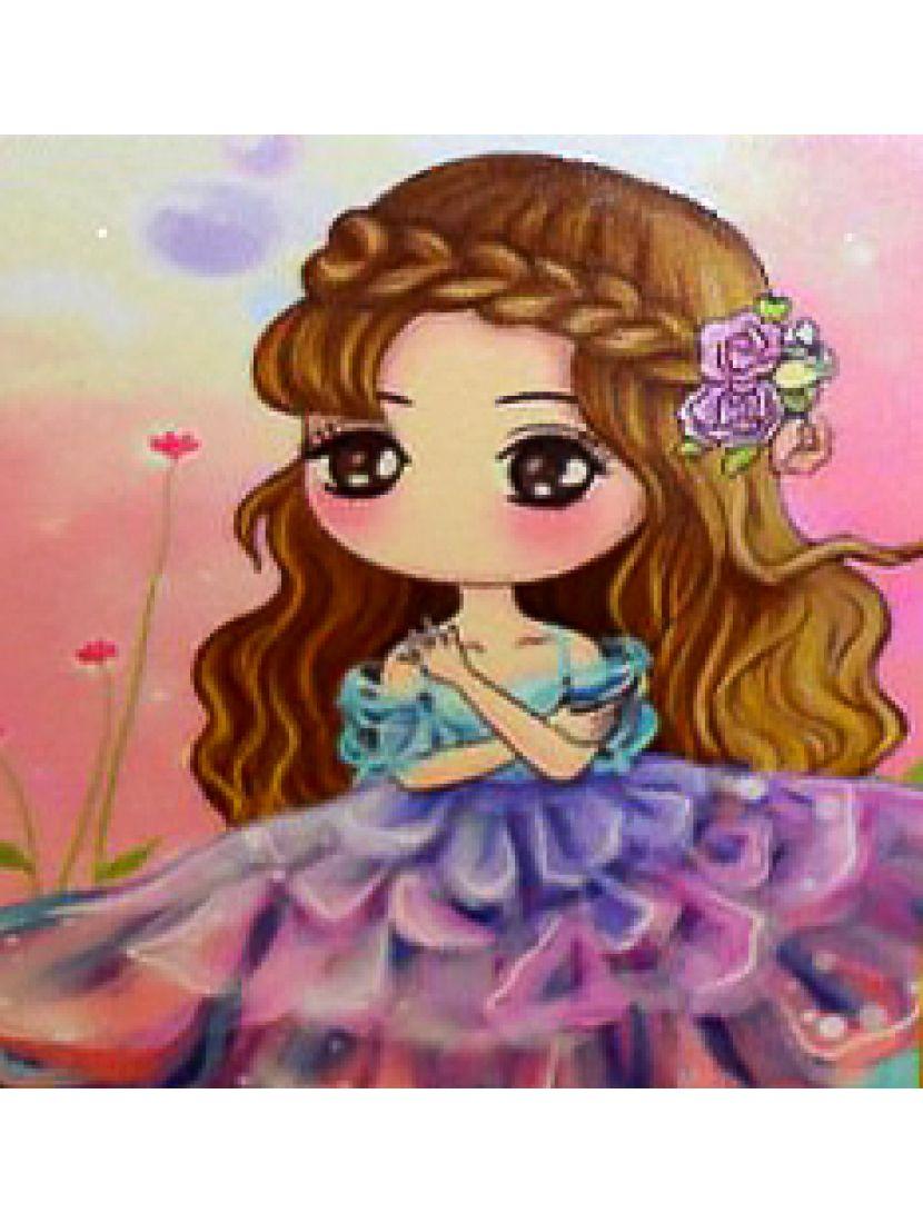 Алмазная мозаика «Принцесса на заре»