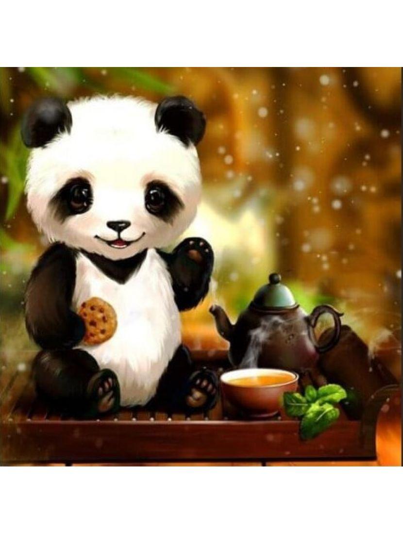 Алмазная мозаика «Чай по-китайски»