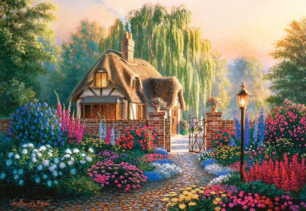 Индексом, открытки с садом