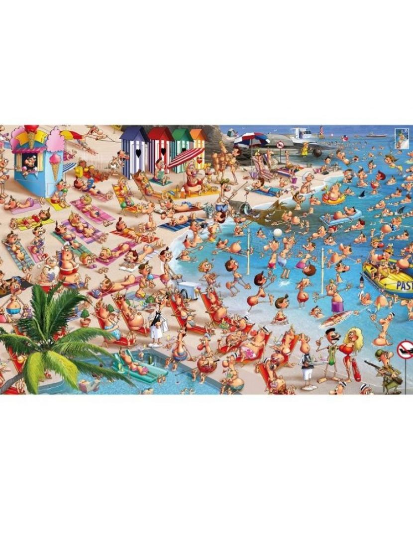 Пазл «Франсуа Руер. Пляж» 1000 элементов