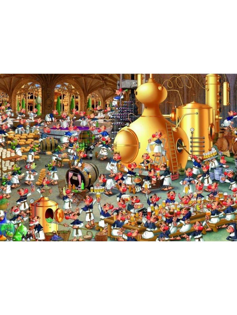Пазл «Франсуа Руер. Винная история» 1000 элементов