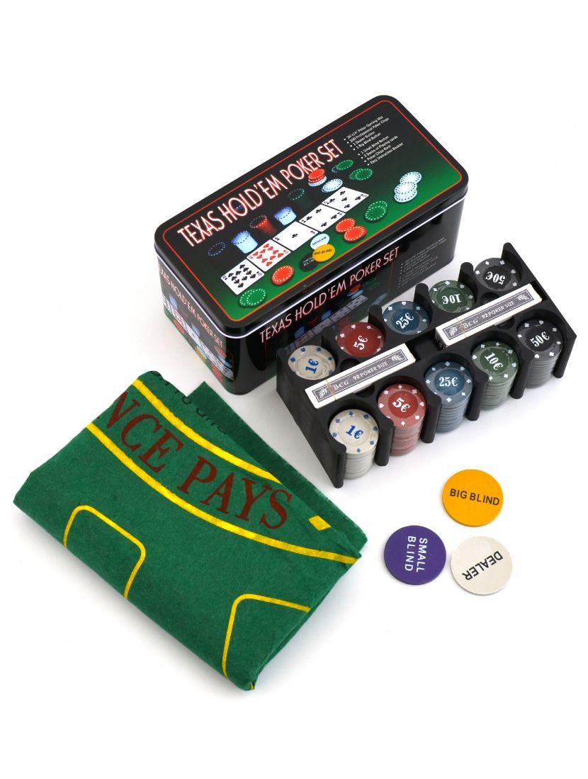 Покерный набор «Holdem» 200 фишек