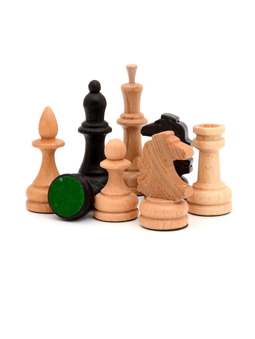 Шахматные фигуры «Славянские» бук