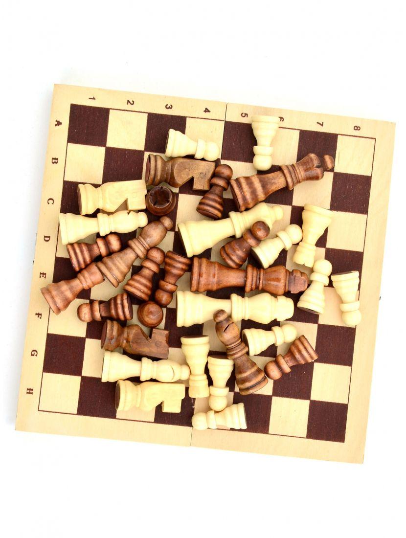 Шахматы «Походные» польские фигуры