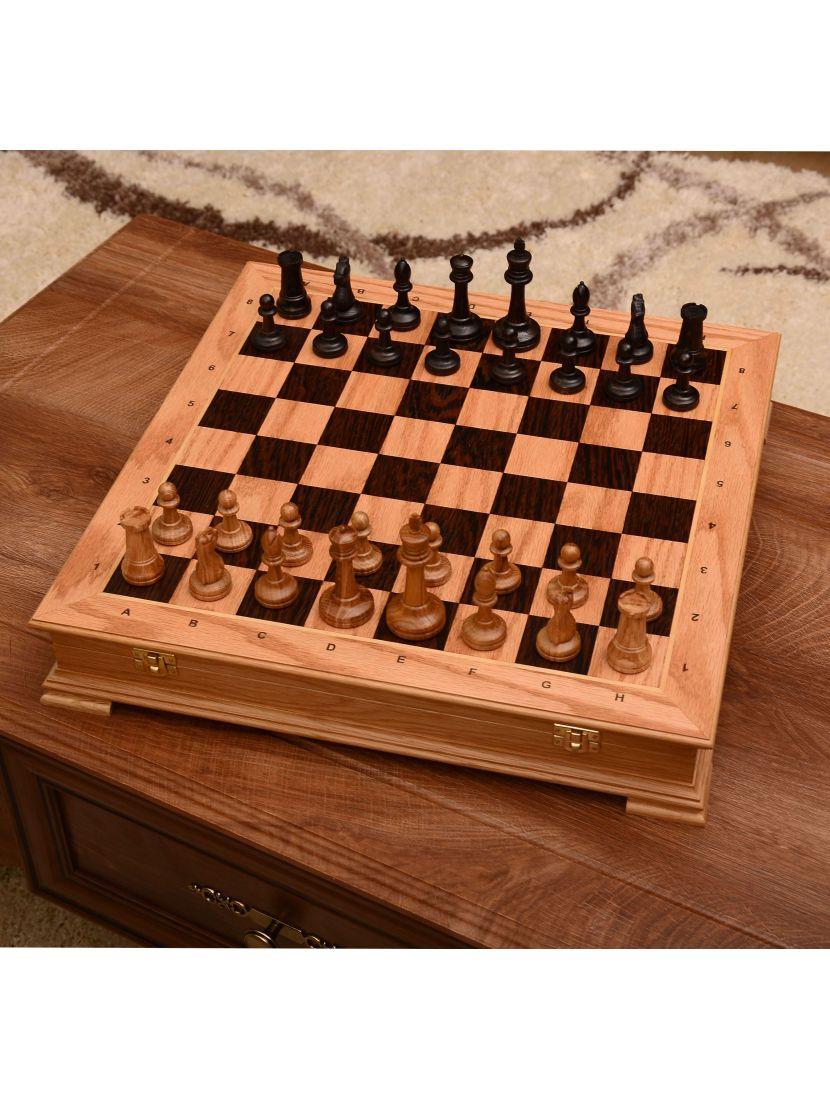 Шахматы «Стаунтон» дуб