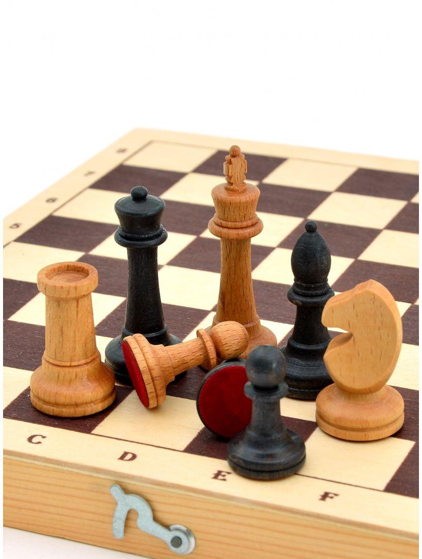 Шахматные фигуры малые «Купеческие» из бука