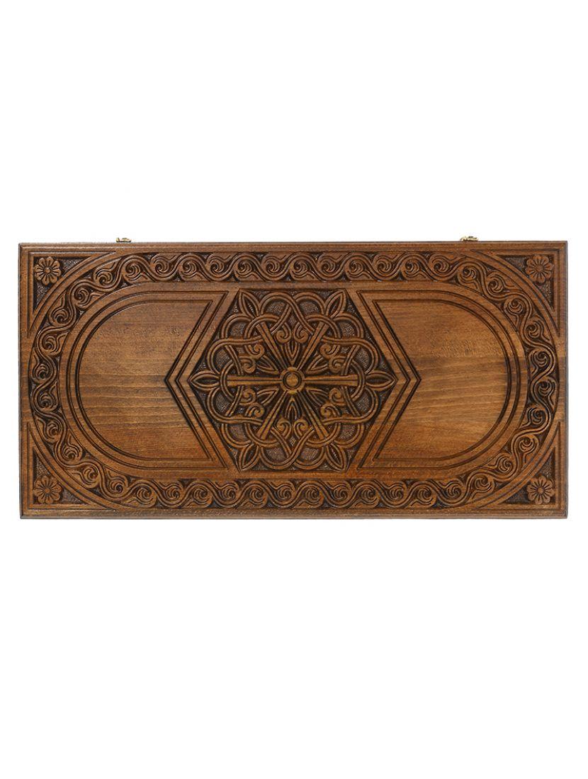 Нарды «Шестигранный узор» мастер Карен Халеян 61 см