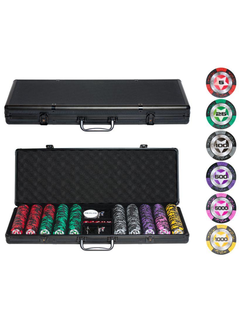 Покер «Black Stars» 500 фишек