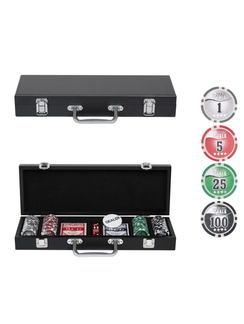 Покер «Wood Poker» 100 фишек