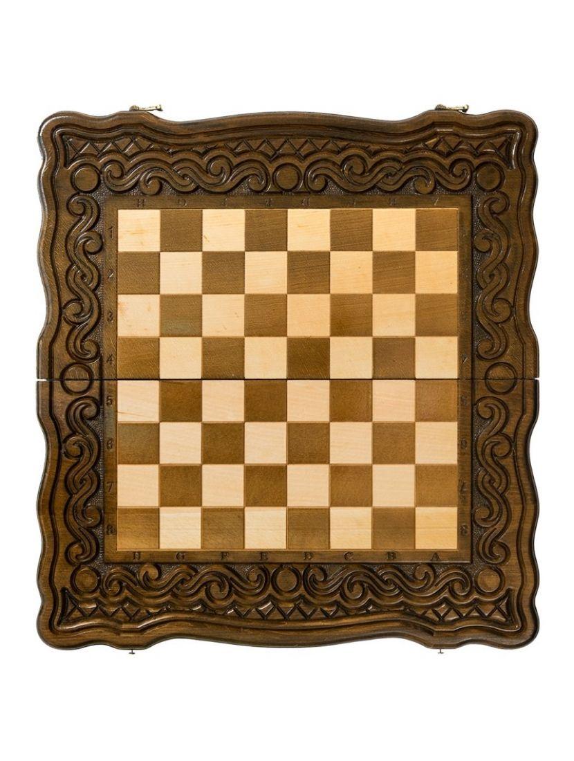 Нарды + шахматы + шашки «Бриз» мастер Карен Халеян 3 в 1 60 см
