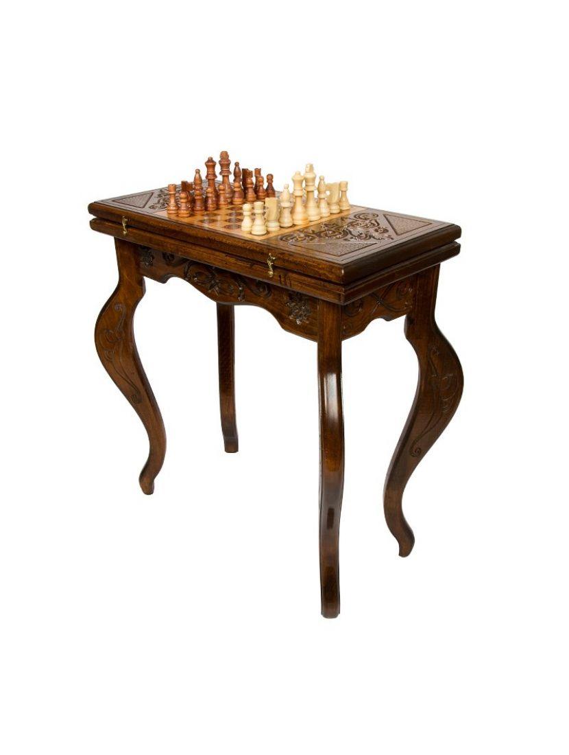 Стол шахматный + нарды «Ломберный» мастер Григорий Устян