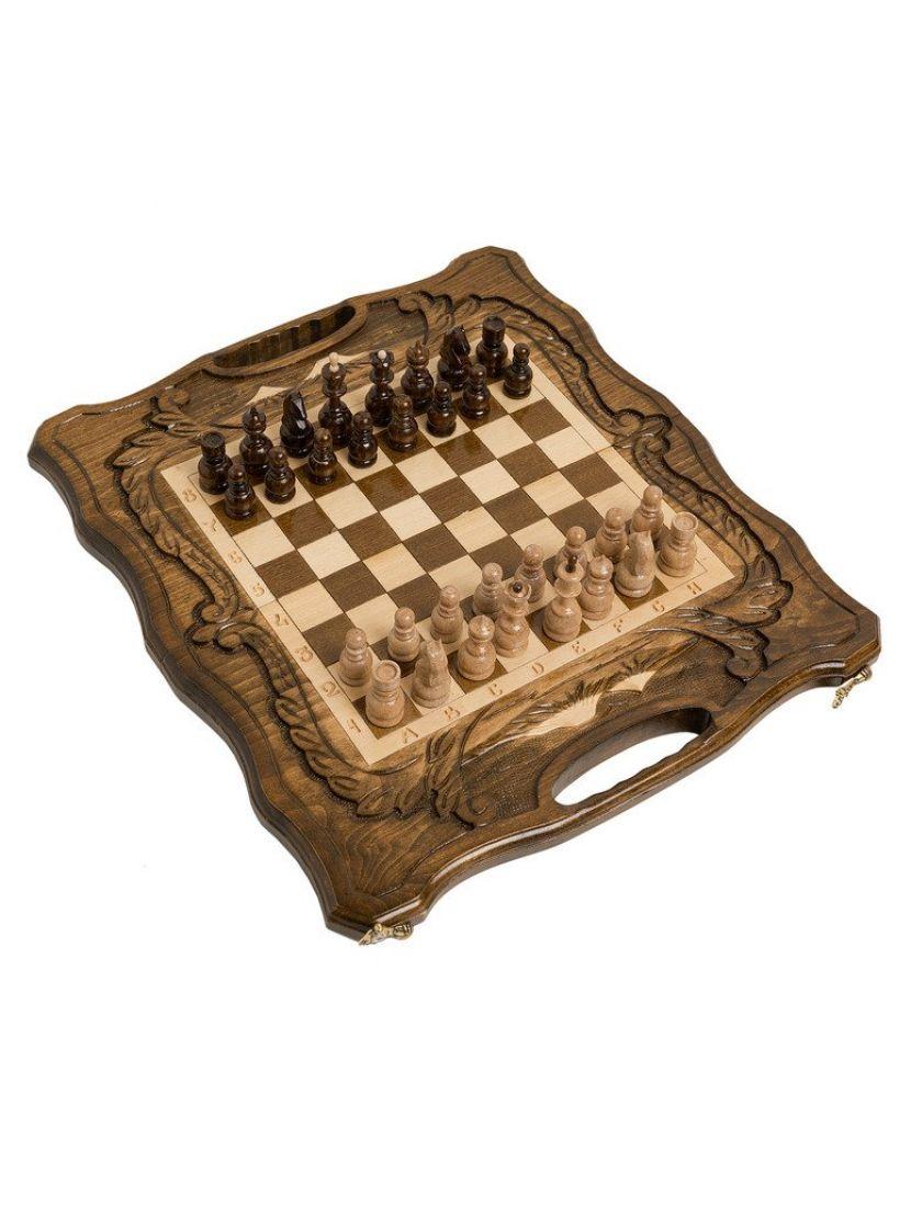 Нарды + шахматы + шашки с ручкой «Арарат» мастер Карен Халеян 3 в 1