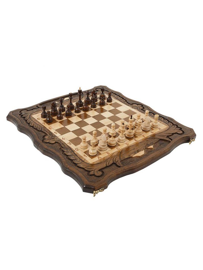Нарды + шахматы + шашки «Арарат» мастер Карен Халеян 3 в 1 50 см