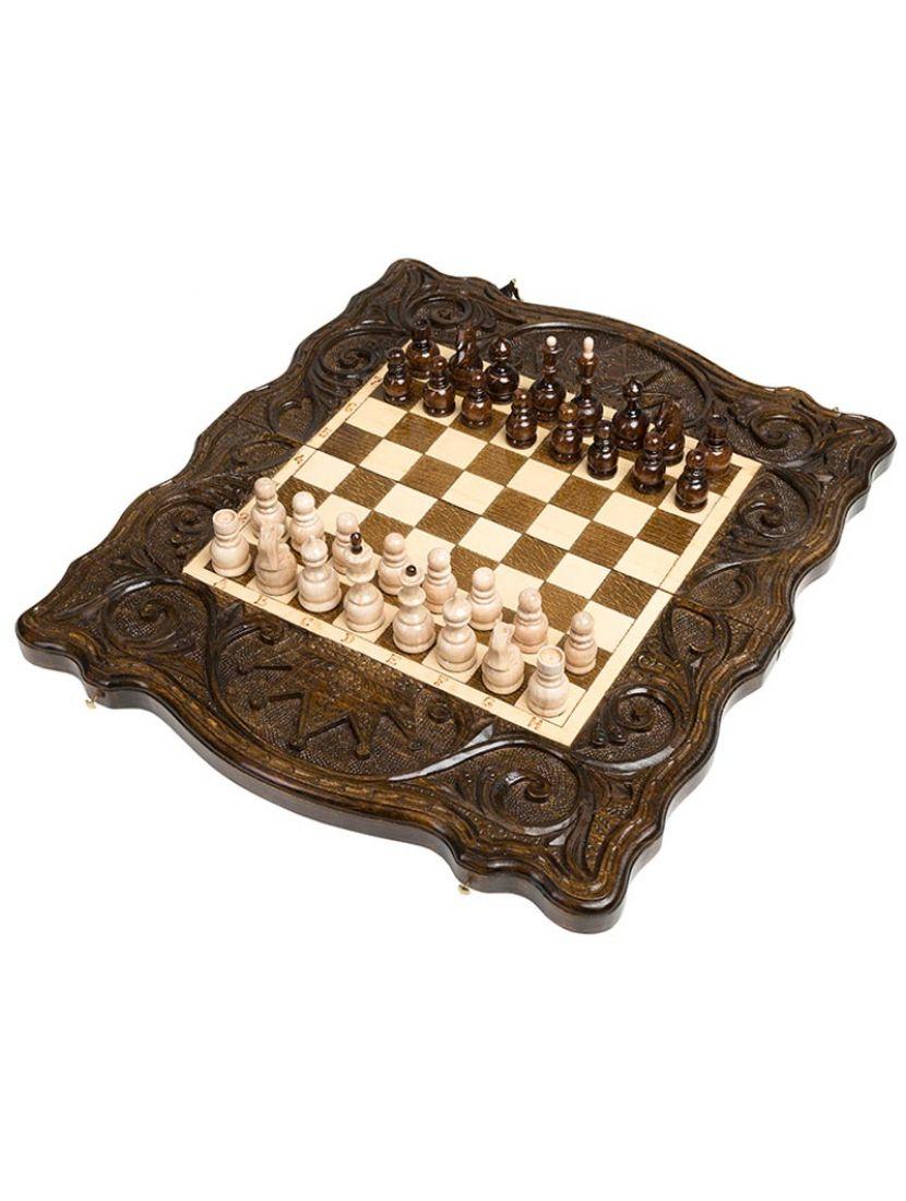 Нарды + шахматы + шашки «Корона» мастер Карен Халеян 3 в 1