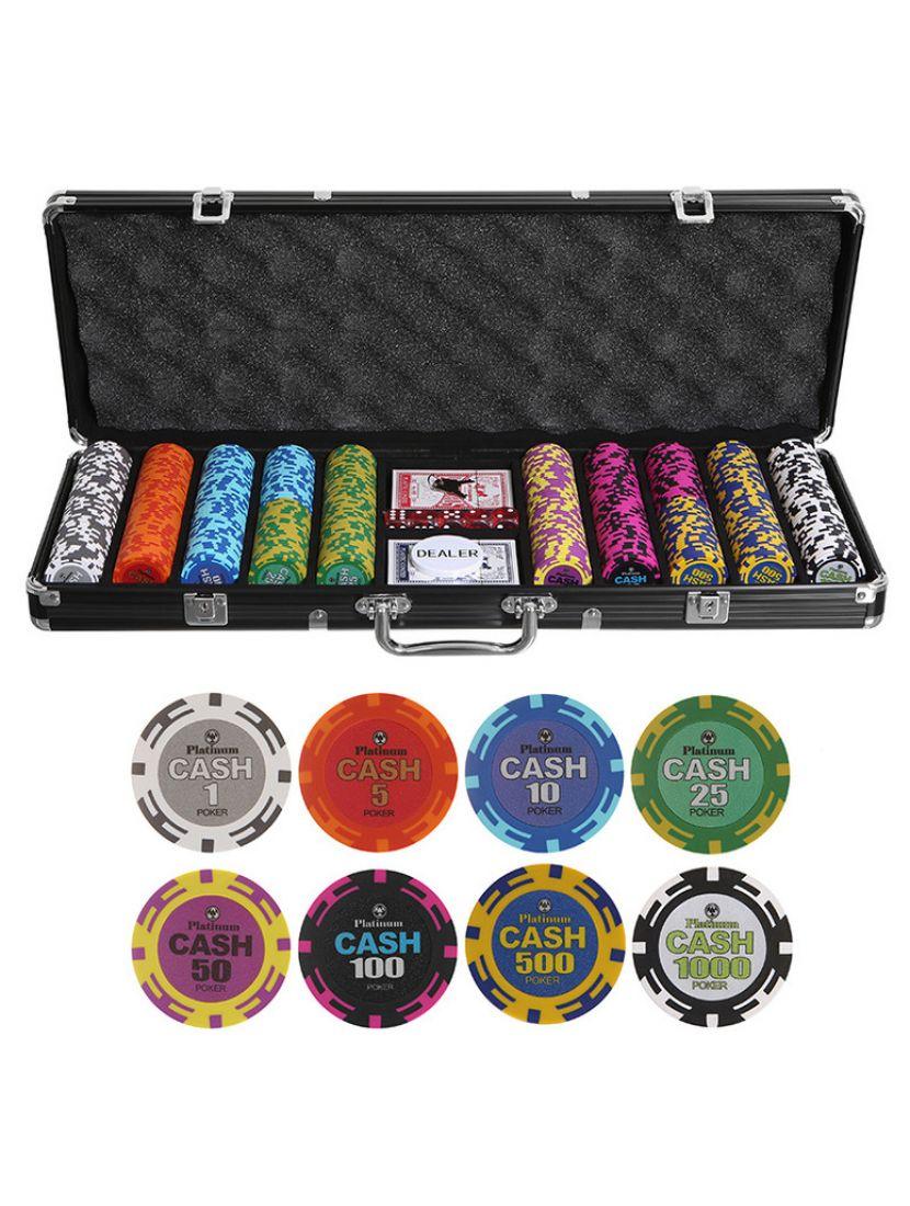 Покер «Cash» 500 фишек